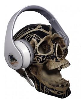 Auriculares Blancos Bruja con micrófono