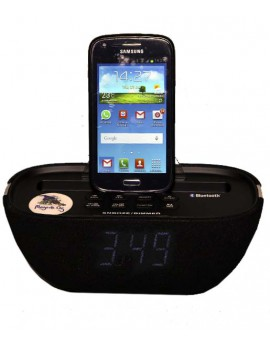 Radio reloj Bluetooth