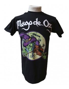 Camiseta bruja hombre