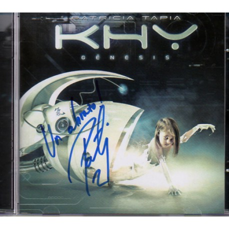 CD Patricia KHY Genesis Edicion Especial - Firmado