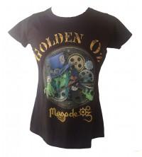 Camiseta M/C GoldenOz-Mägo Mujer