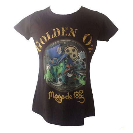 Camiseta-GoldenOz-Mago-Mujer