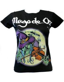 Camiseta bruja mujer